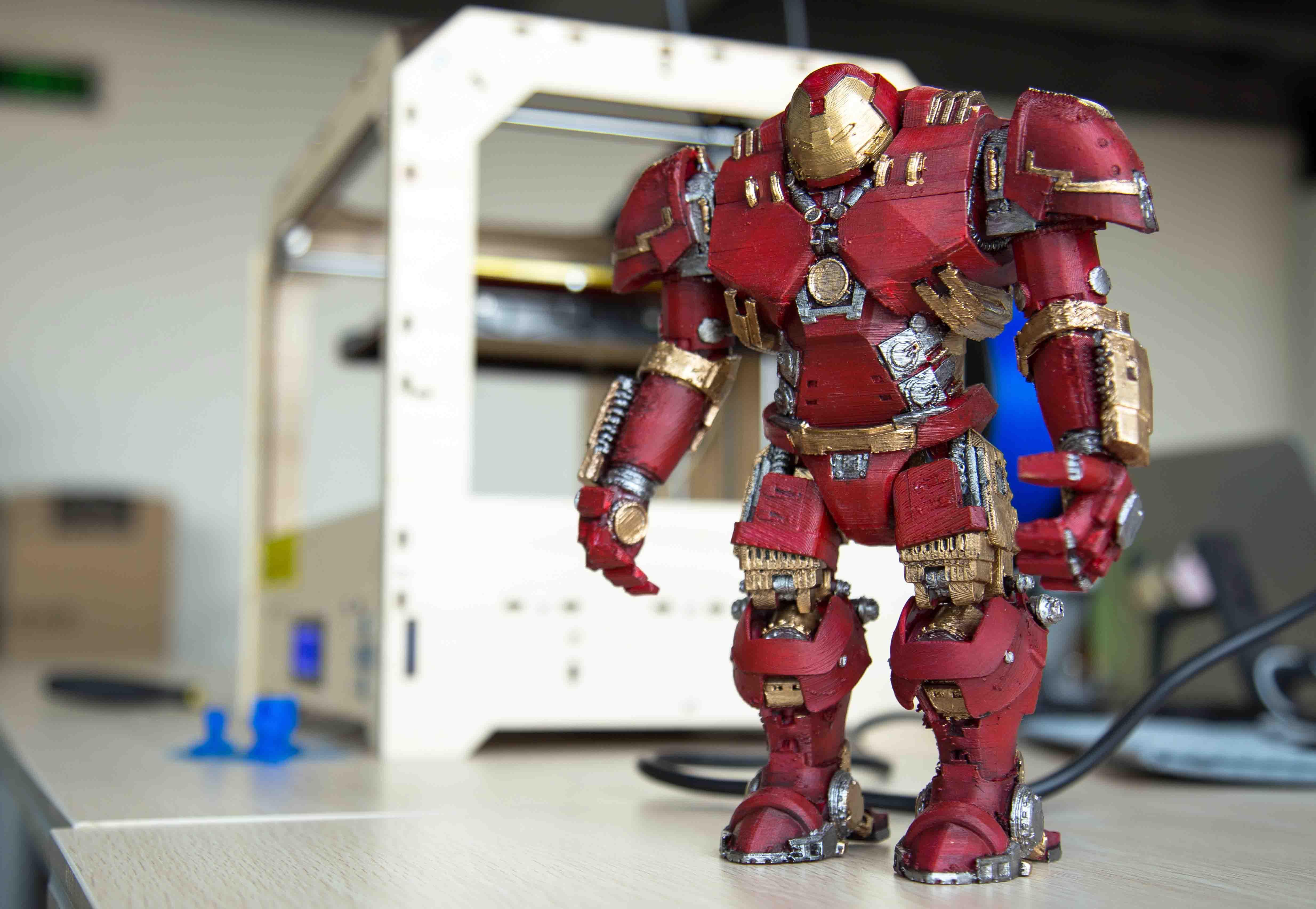 3D PRINTED IRON MAN ANYONE? - Gambody, 3D Printing Blog