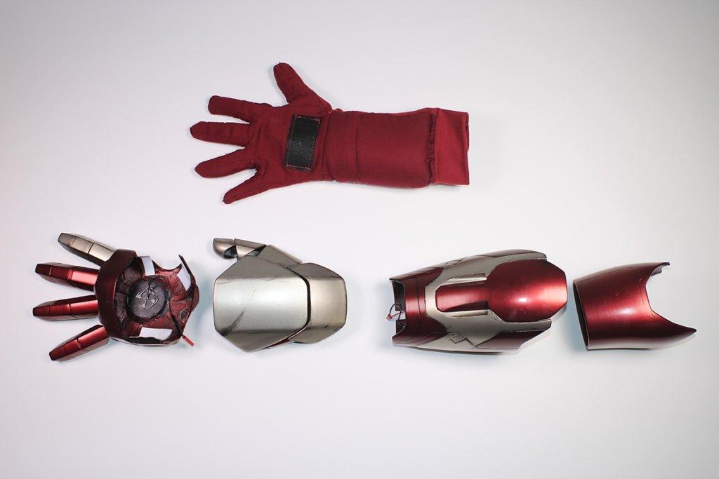 3d printed iron man arms