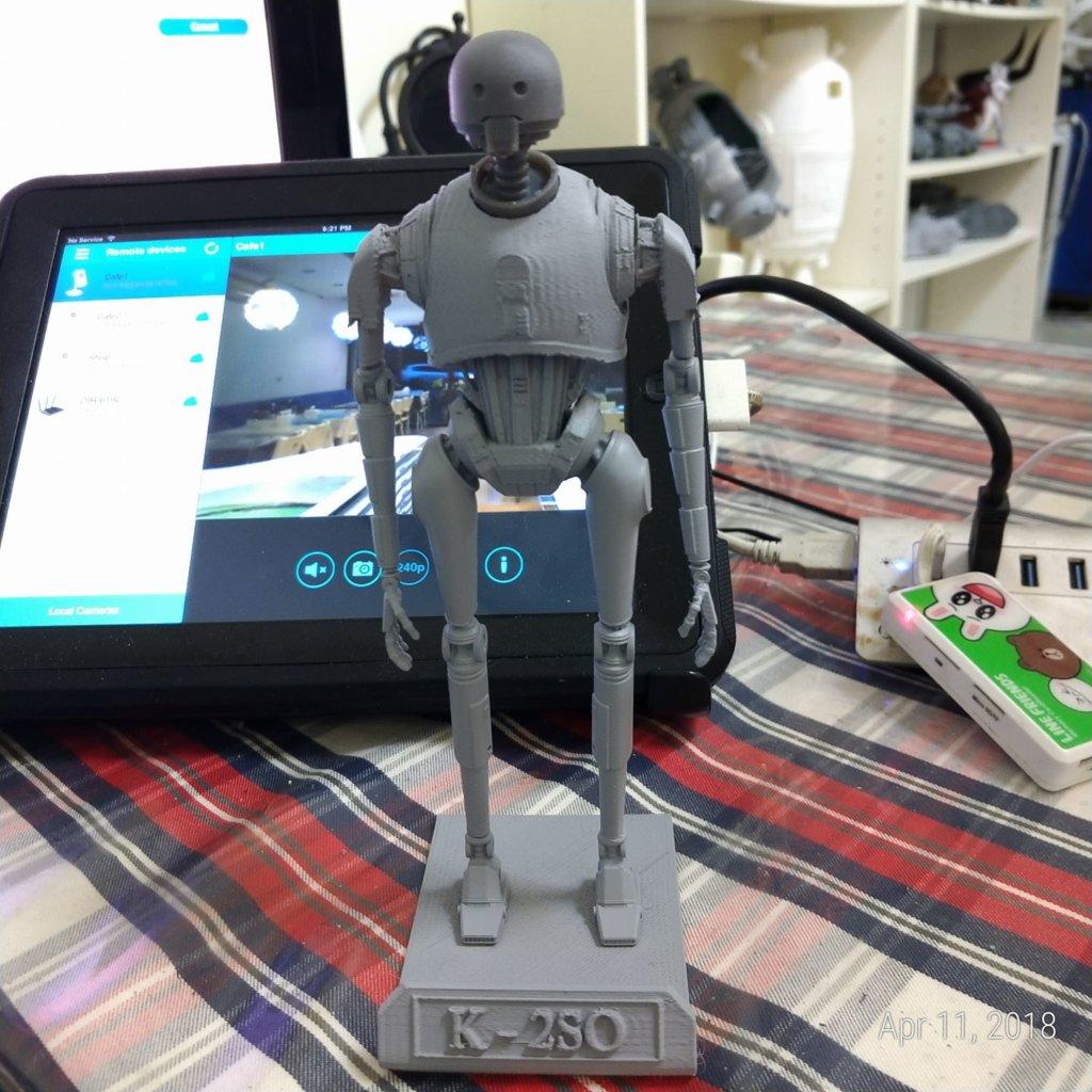 K-2SO 3D Printing Model