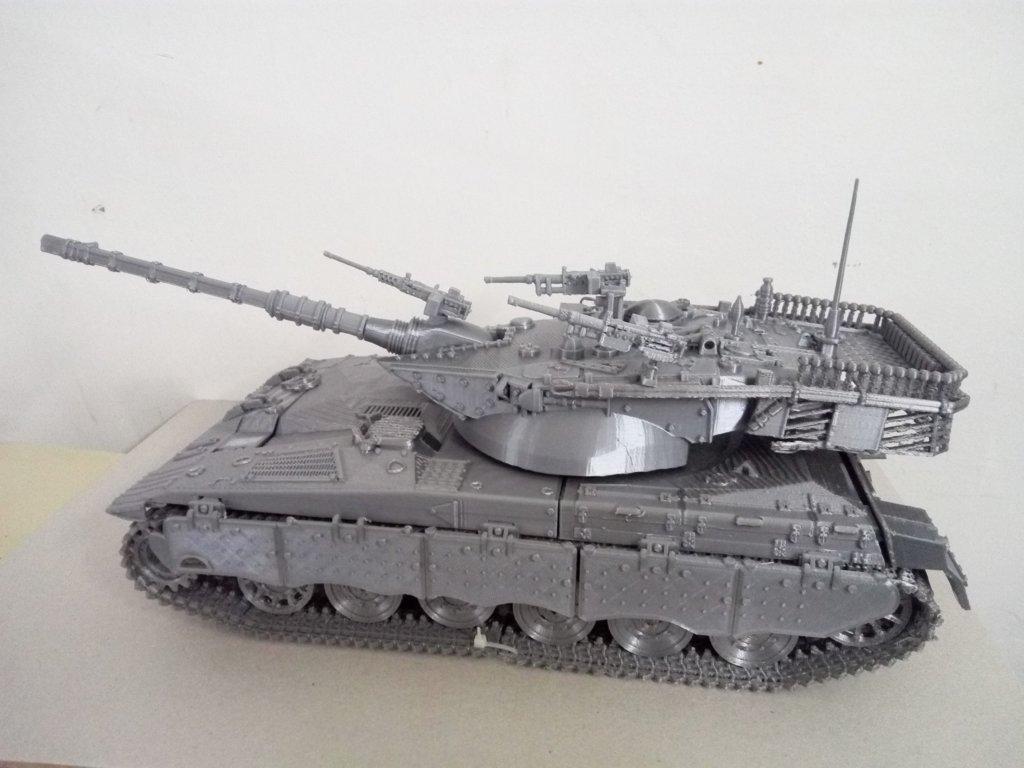 Merkava MK2 3D Printing Model