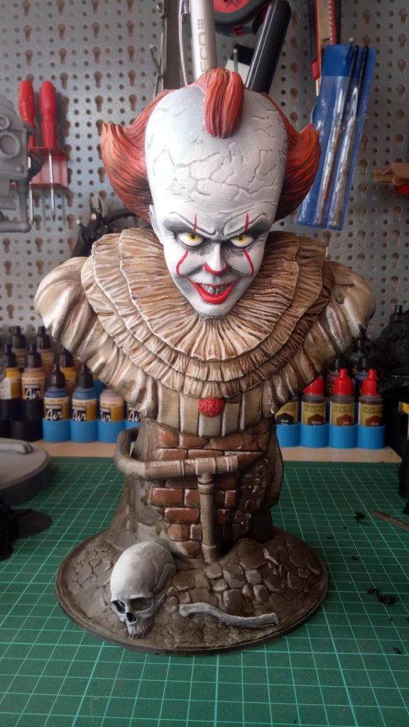 Pennywise 3D Printing Bust