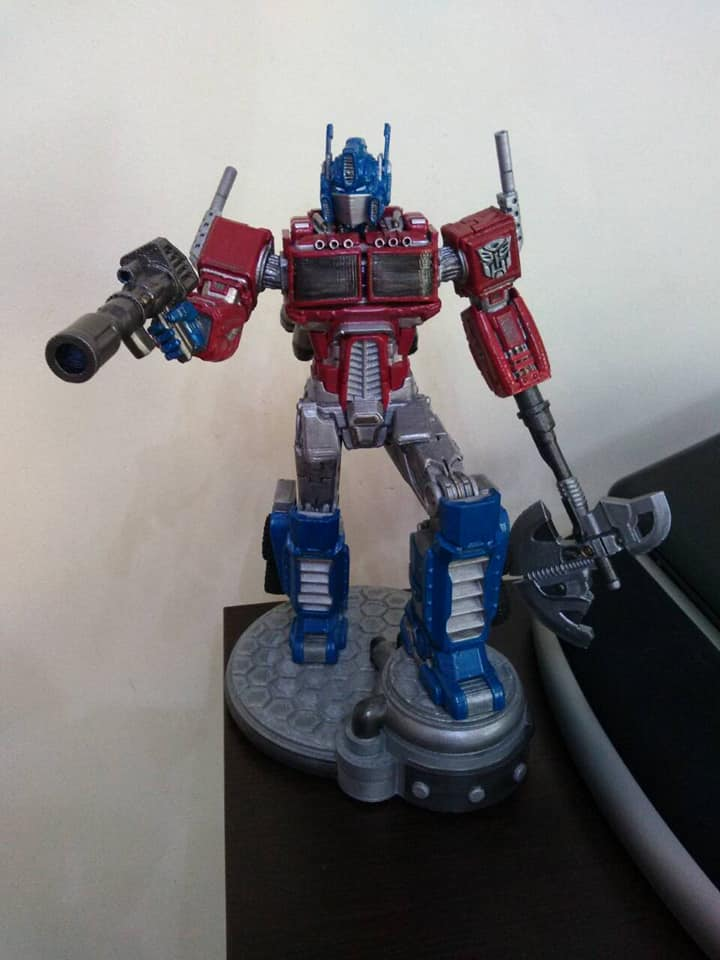 Optimus Prime Transformers 3D printing miniatures