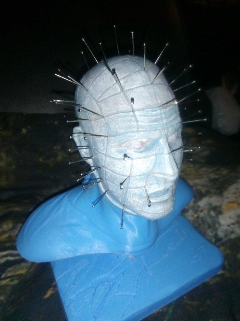 Pinhead Bust 3D printing miniatures