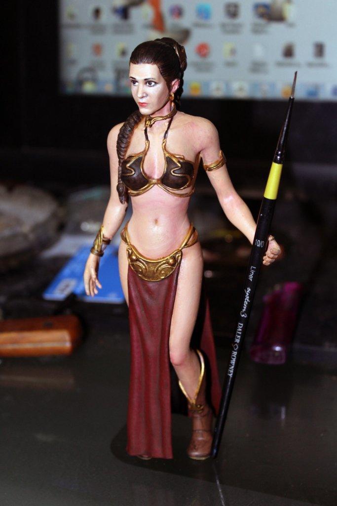 Star Wars Leia 3D printing miniatures