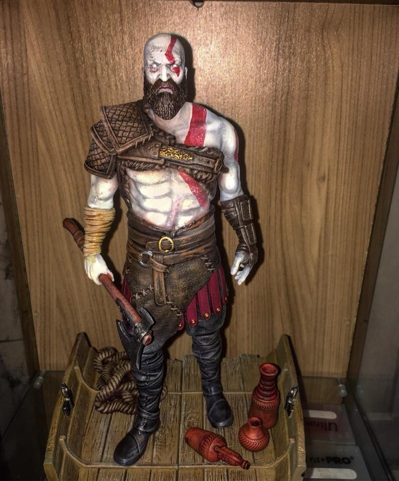 Kratos miniature
