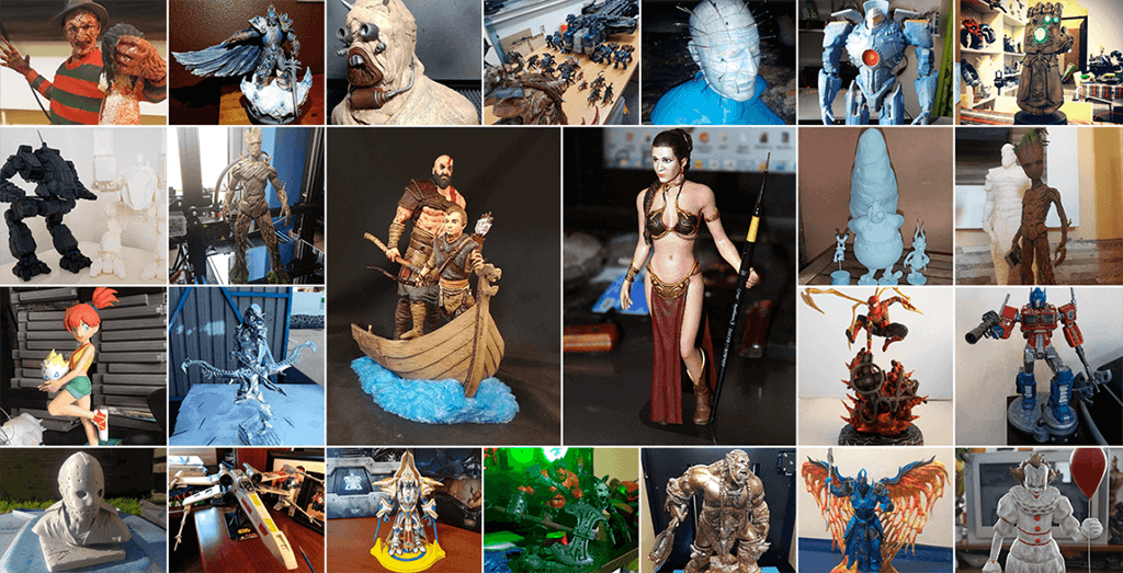 May 3D Printed Figurines Pick of the Month
