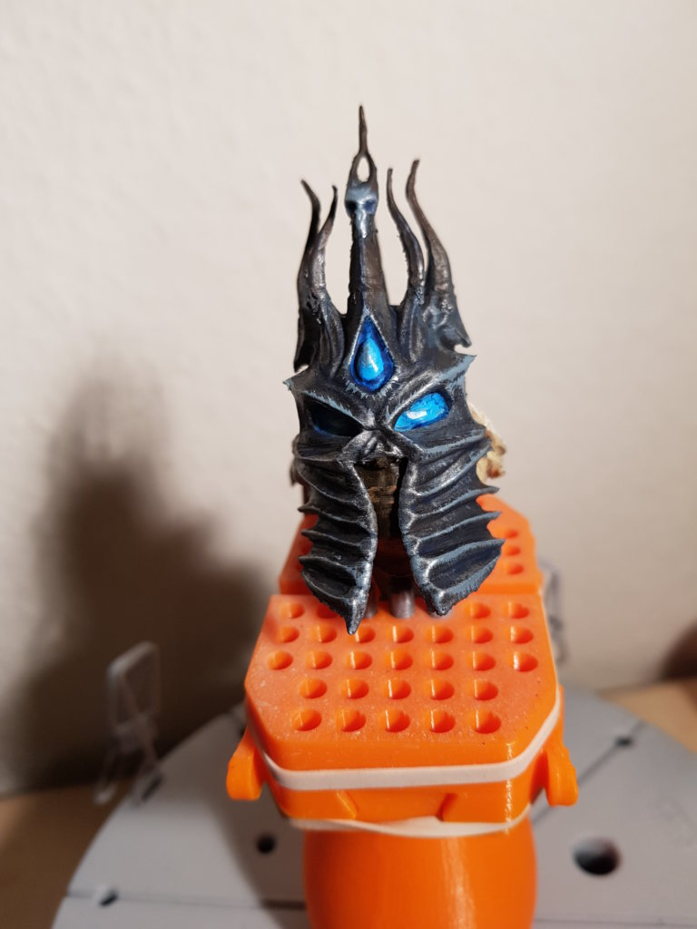 Lich King Miniature Painting