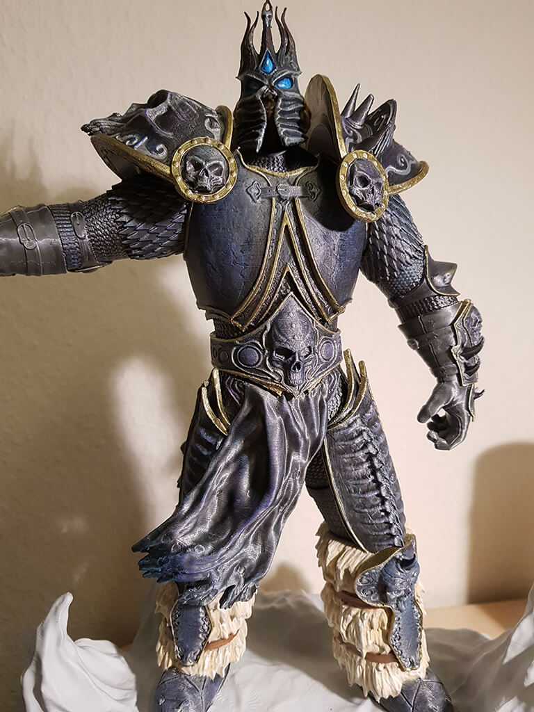 How to paint Lich King Miniature