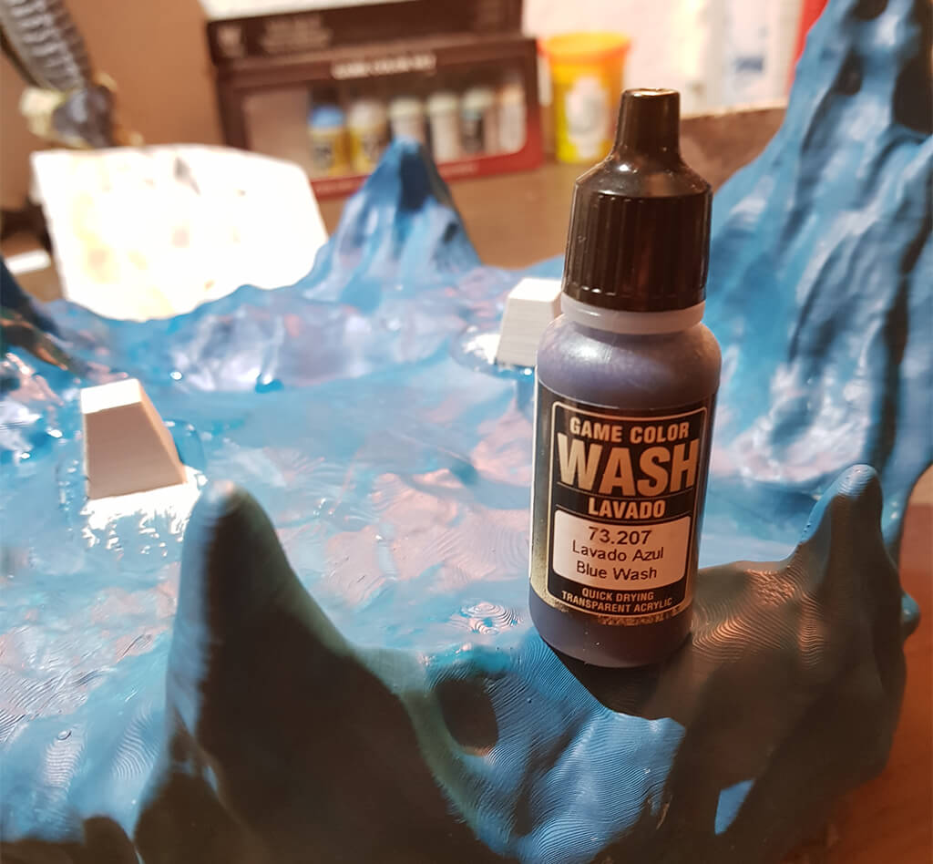 Game Color Wash Lich King Miniature Painting