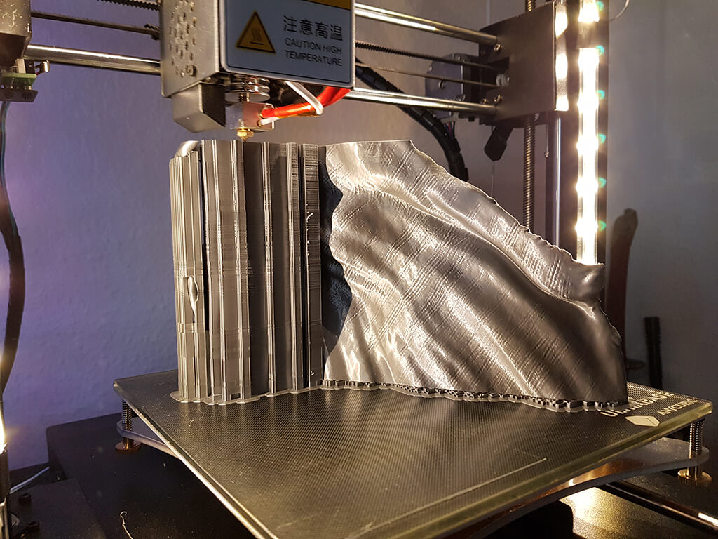 3D print Lich King cape miniature