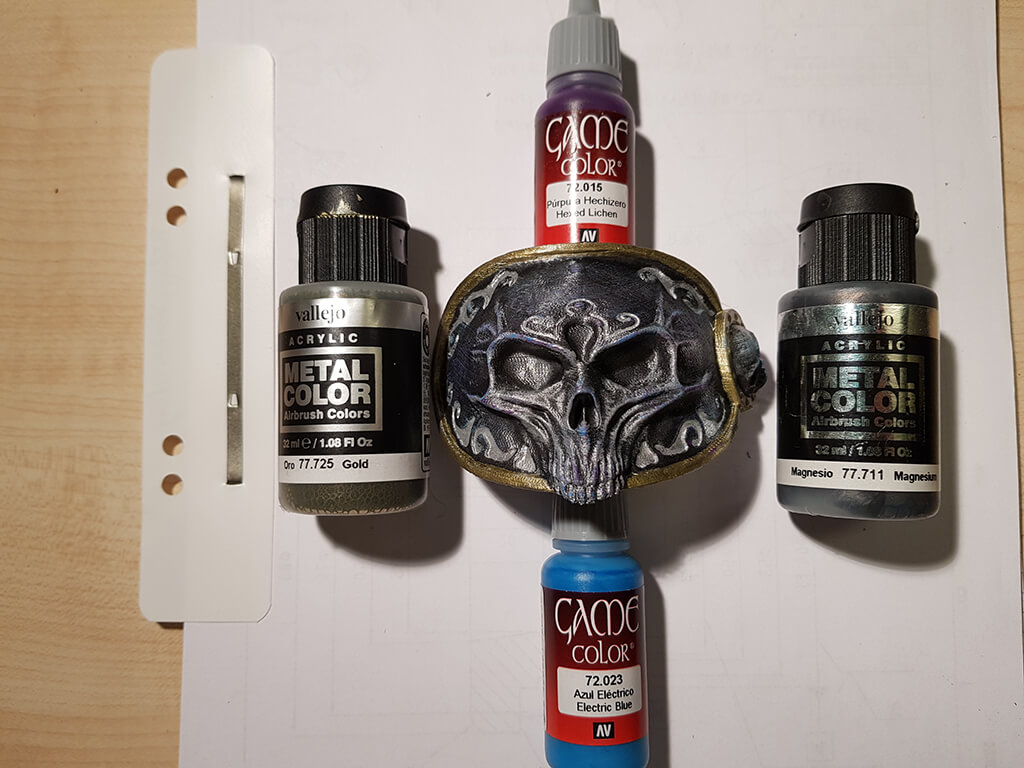 Metal colour for Lich King Miniature Painting