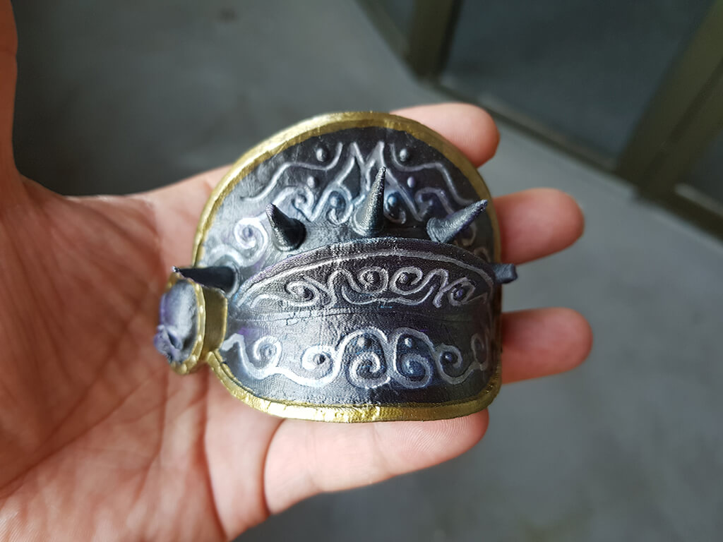 Part of Lich King Miniature model