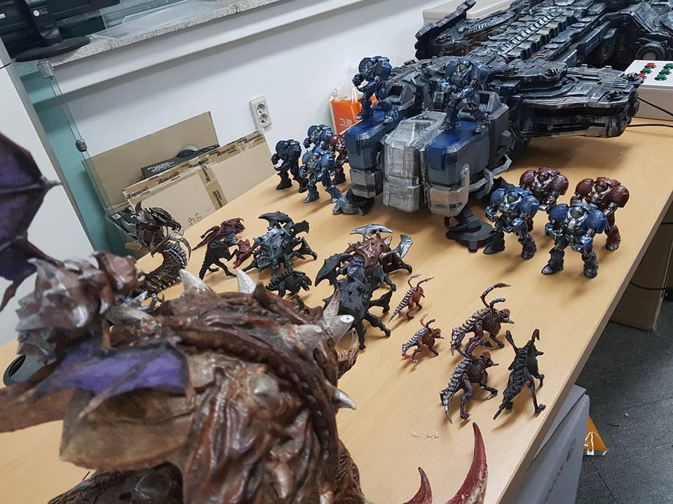 StarCraft Diorama