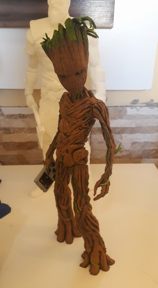 Teenage Groot 3D printing miniatures