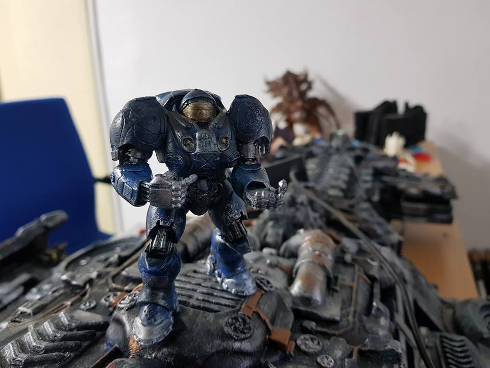 Terran Marine 3d printing miniatures