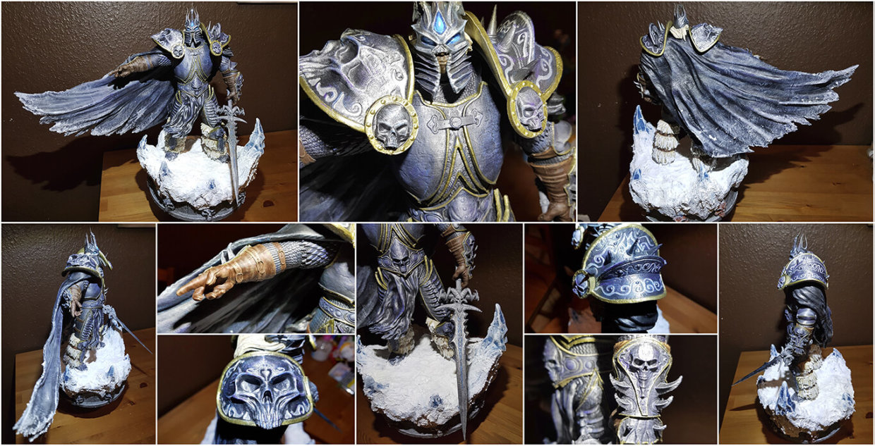Lich King Miniature 3D Printing and Painting Tutorial