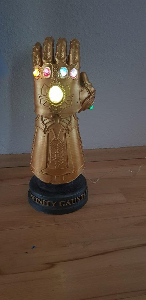 Infinity Gauntlet 3d printing