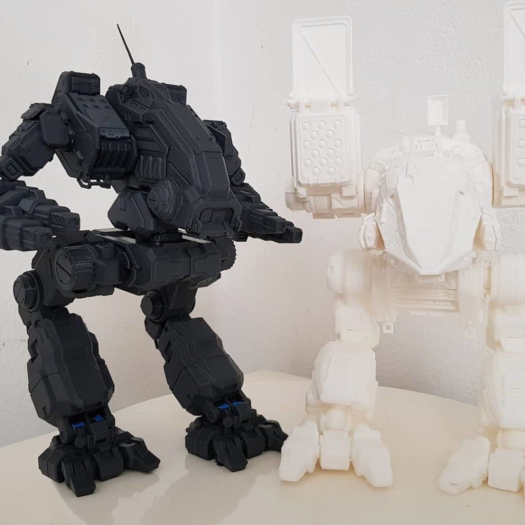 MechWarrior 3D printing miniatures