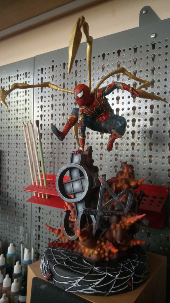 Spider-Man 3D printing miniatures