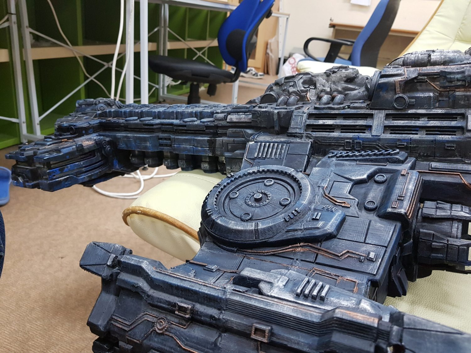 3D Printed StarCraft Battlecruiser