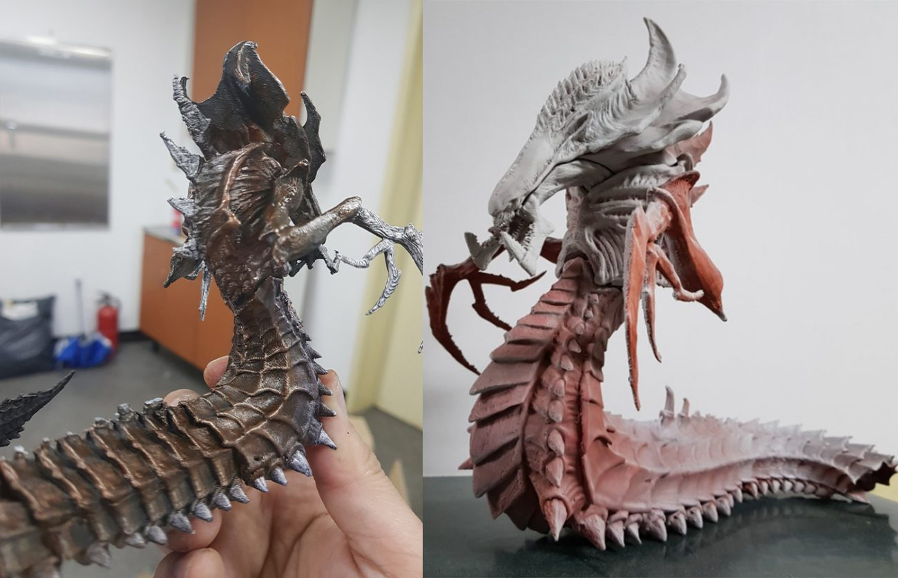 Hydralisk 3D Printing Figurine