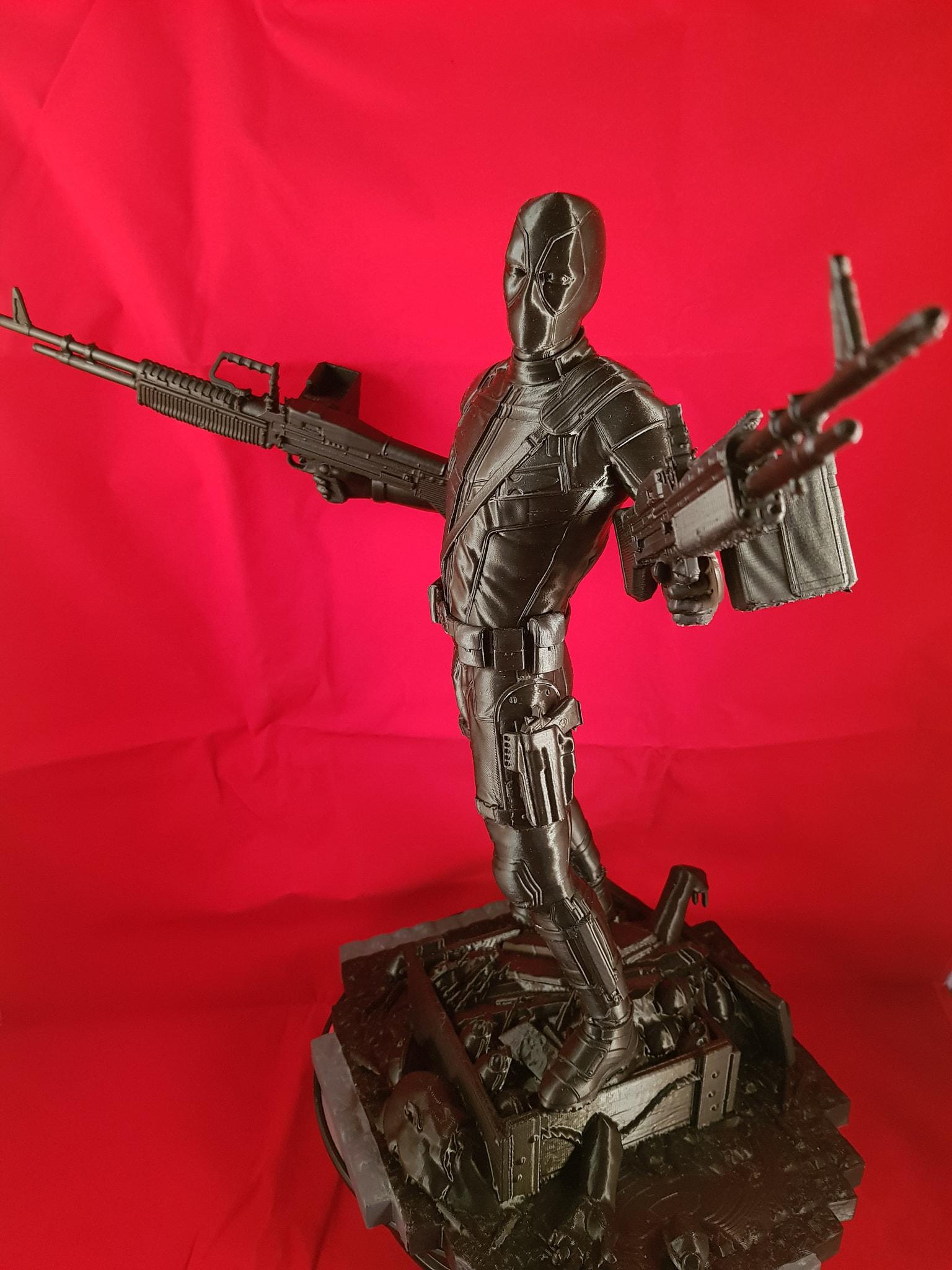 Deadpool 3D Printing Figurine