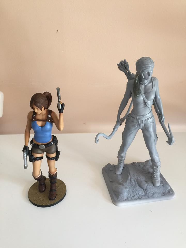 Lara Croft 3D Printing Figurine Photo 2