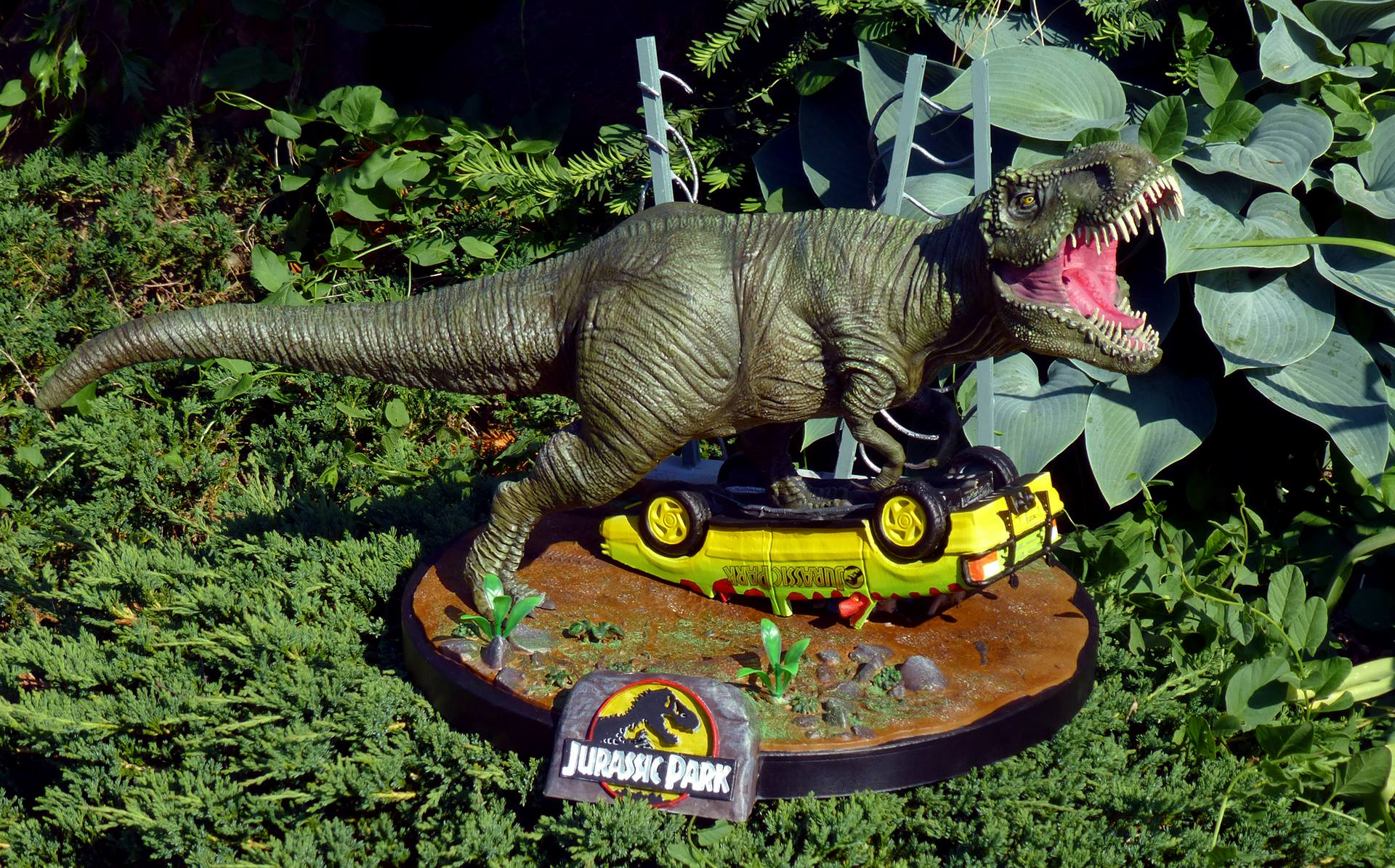 Jurassic Park 3D Printing Diorama Photo 4