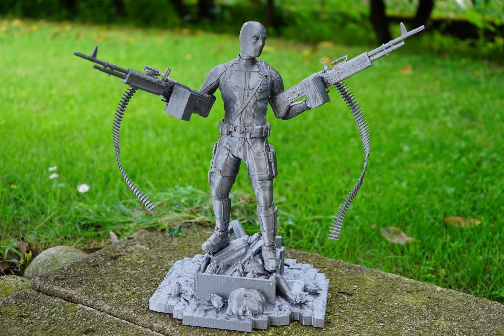 Deadpool 3D Printing Figurine Photo 6