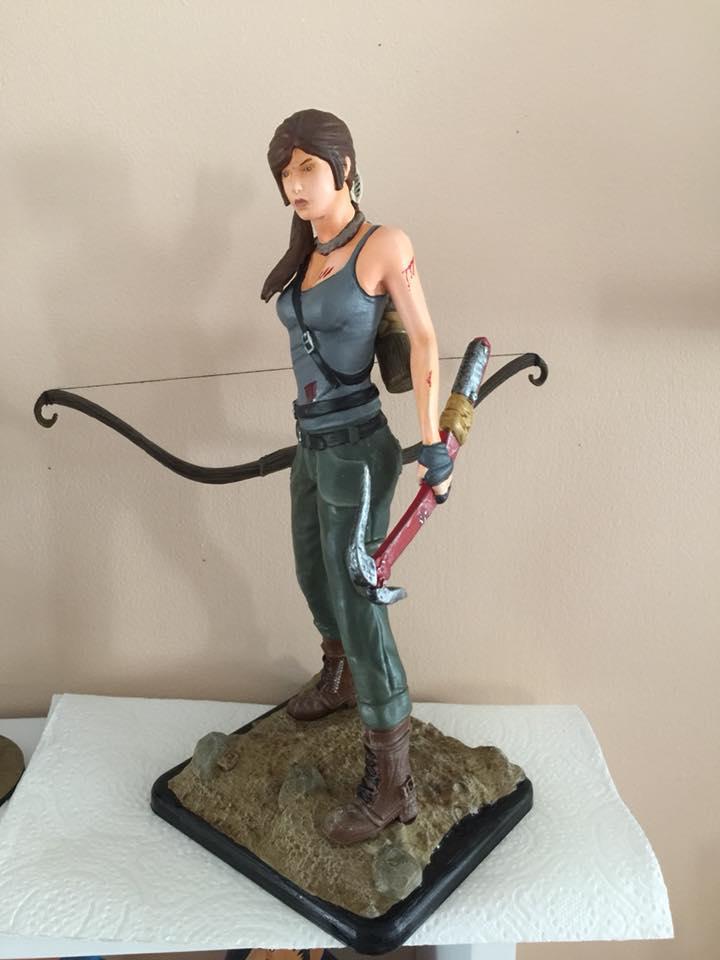 Lara Croft 3D Printing Figurine Photo 4