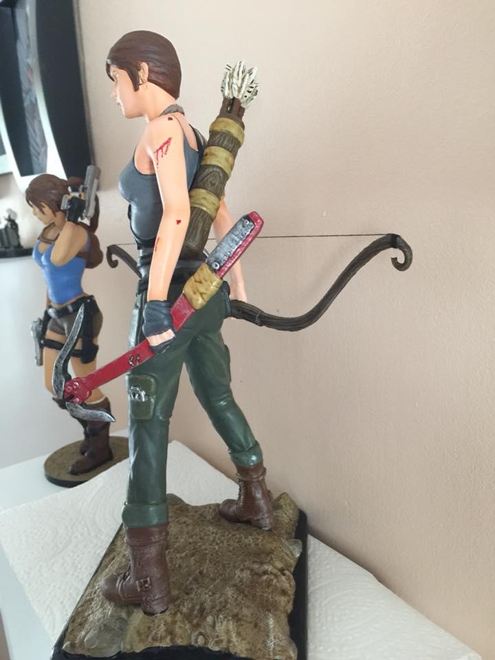 Lara Croft 3D Printing Figurine Photo 5
