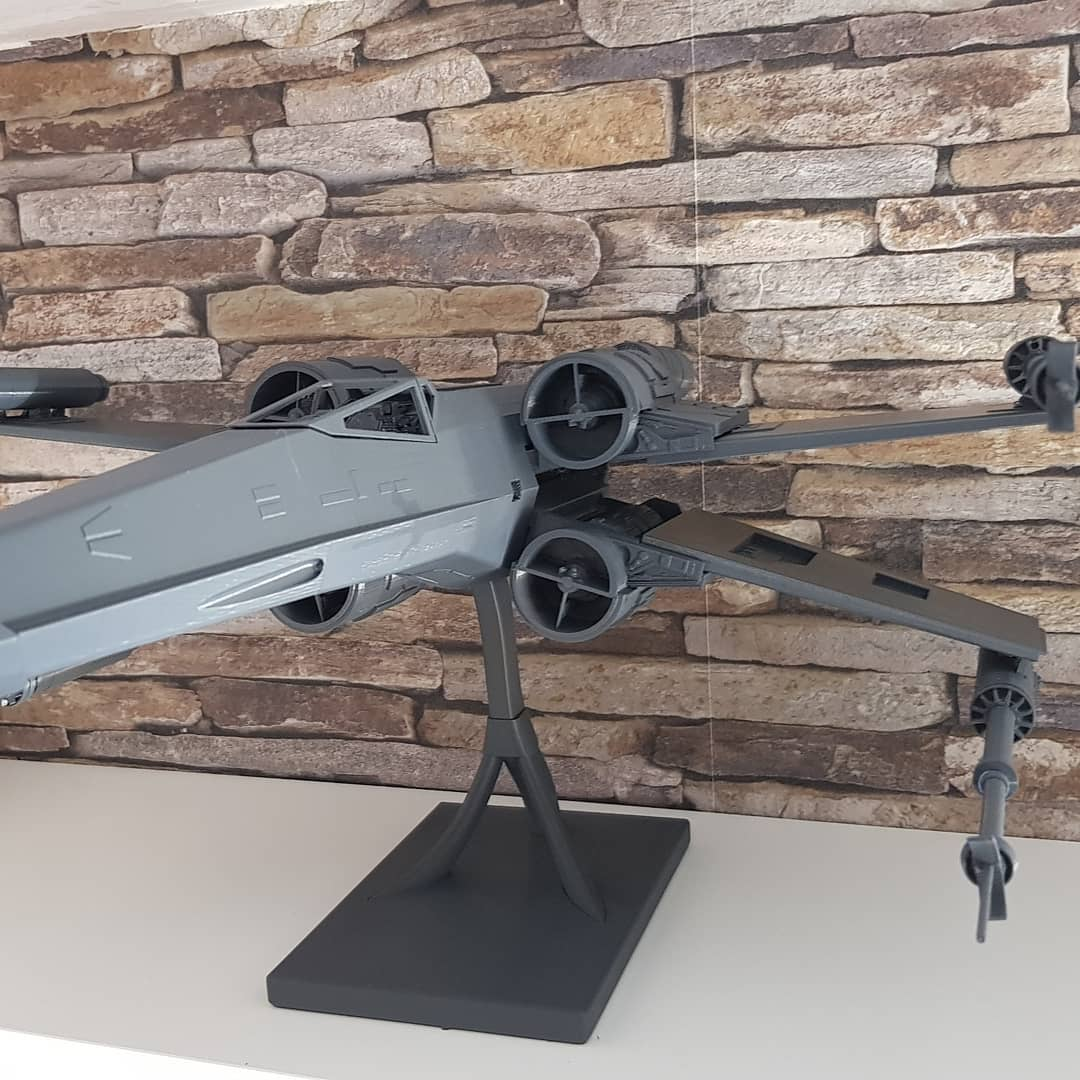 X-Wing 3D Printing Model Photo 3