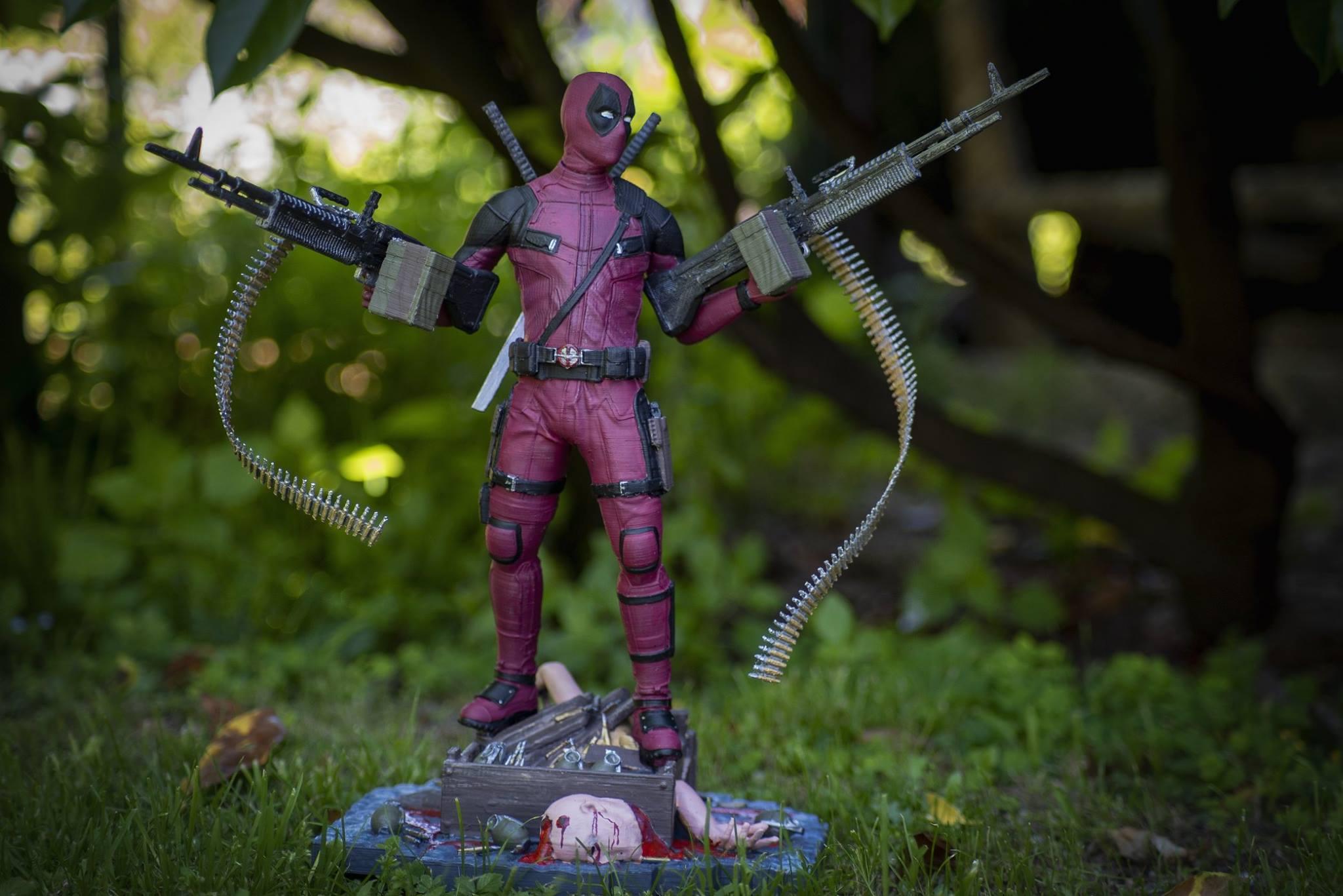 Deadpool 3D Printing Figurine Photo 8