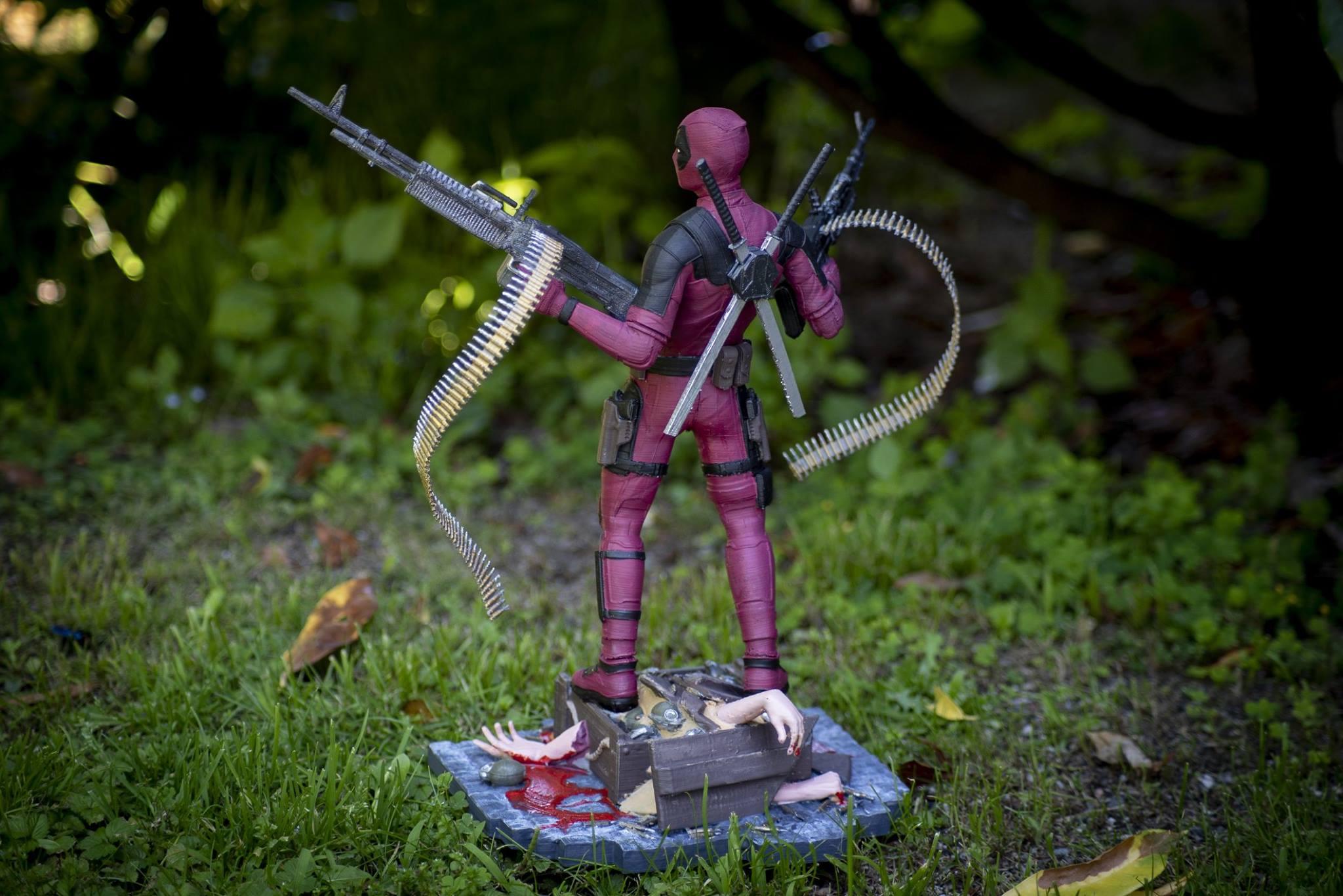 Deadpool 3D Printing Figurine Photo 9