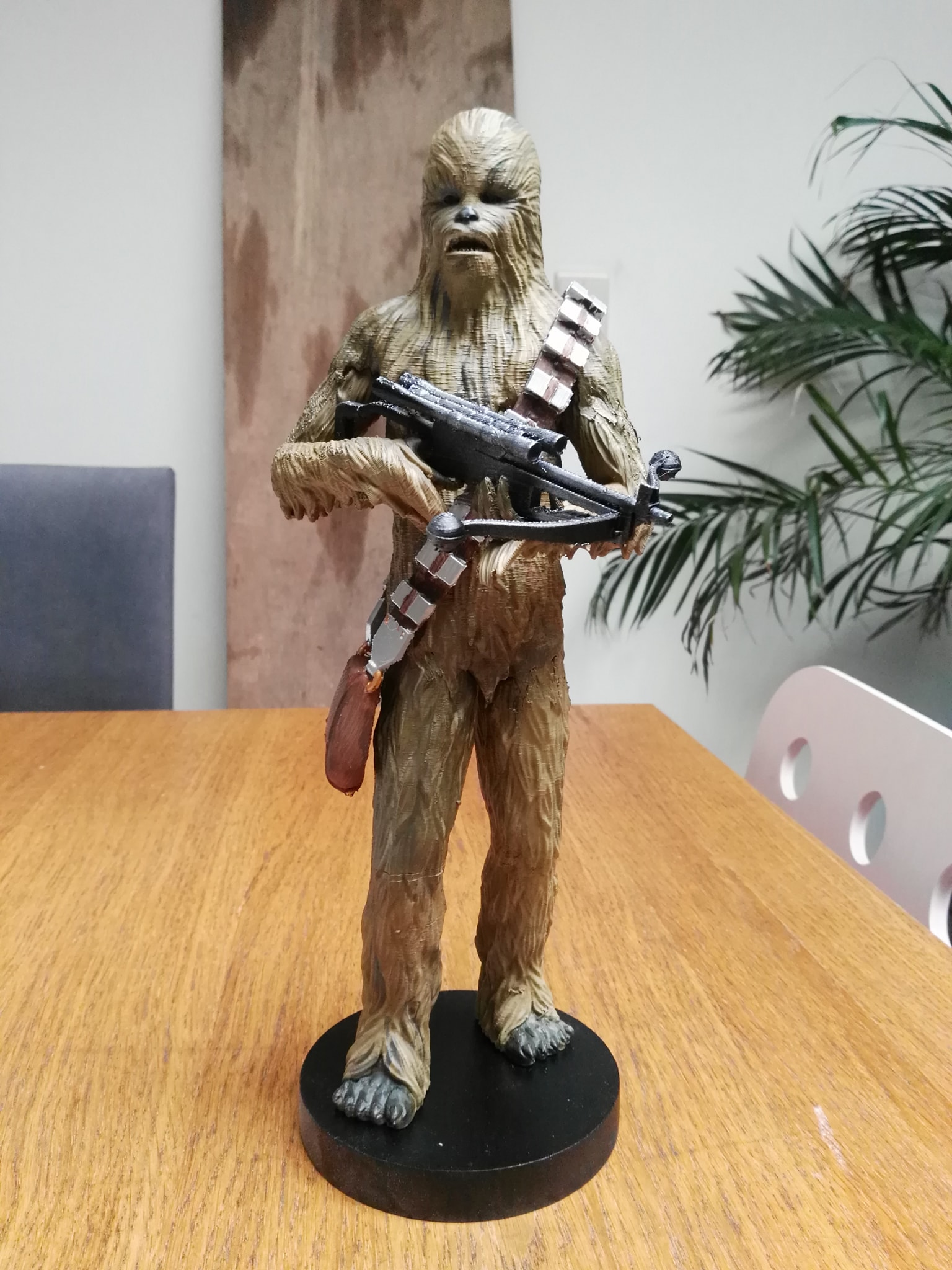 Chewbacca 3D Printing Figurine Photo 3