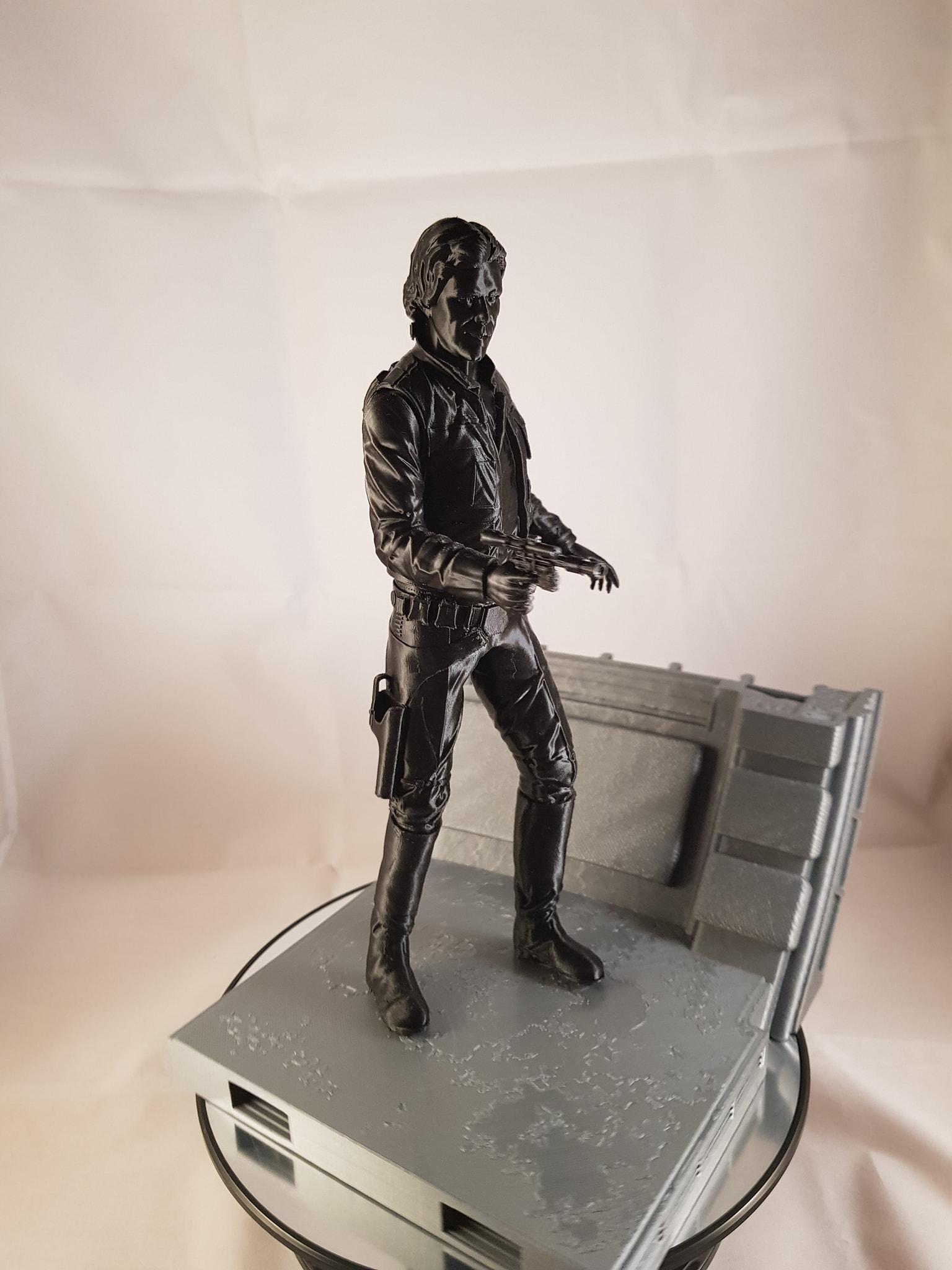 Han Solo 3D Printing Figurine Photo 2