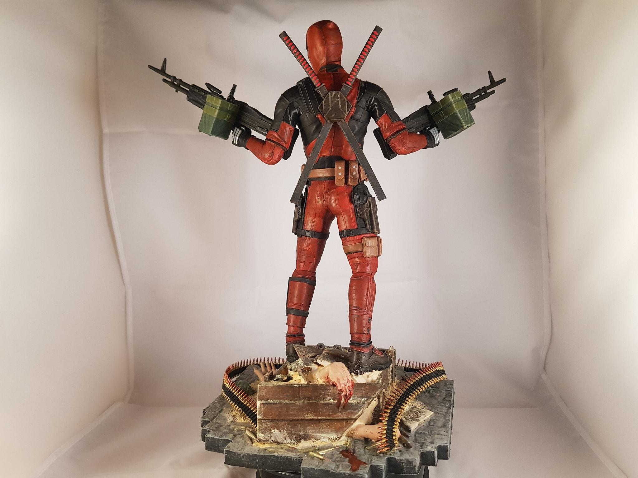Deadpool 3D Printing Figurine Photo 5