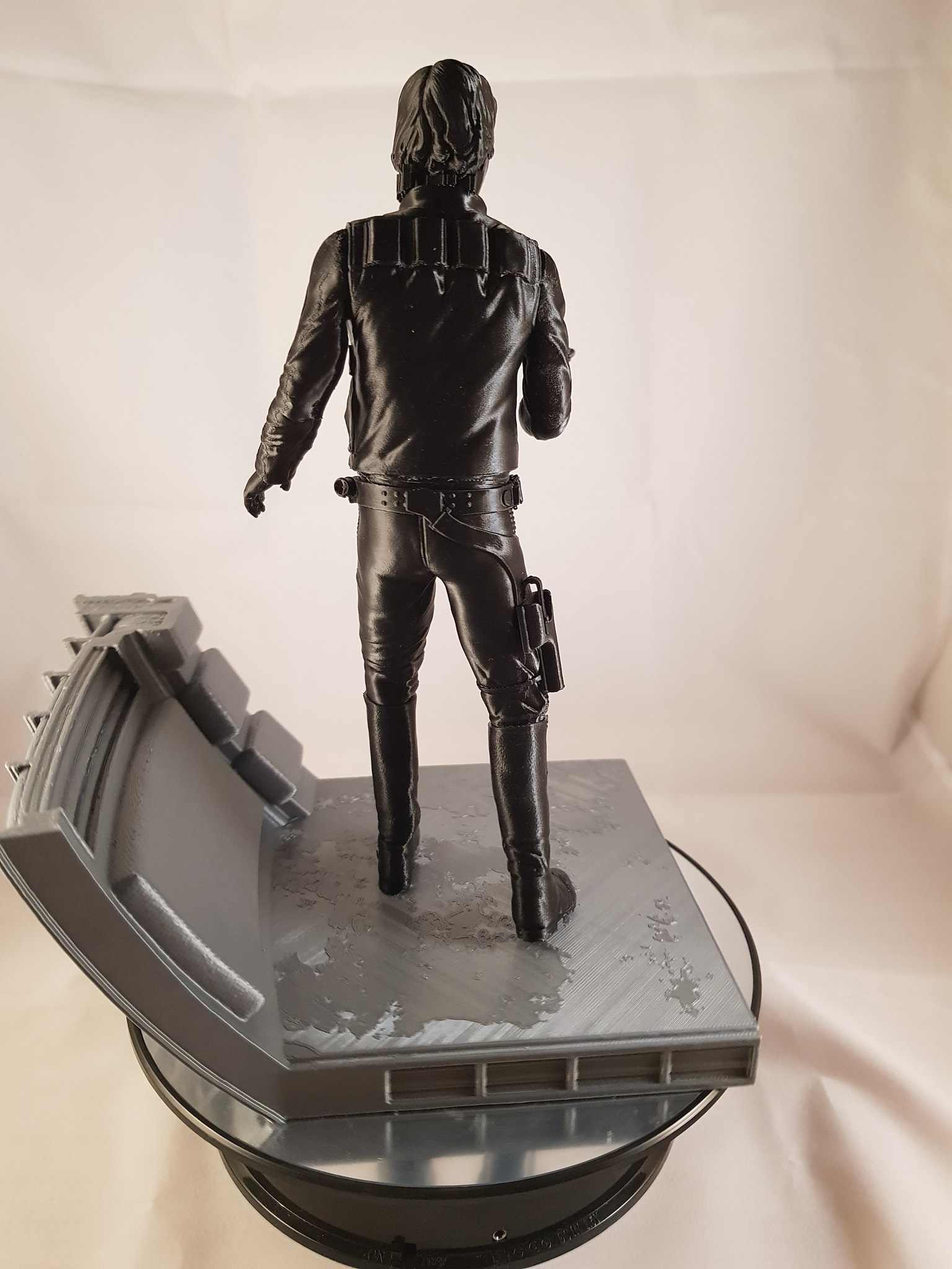 Han Solo 3D Printing Figurine Photo 3