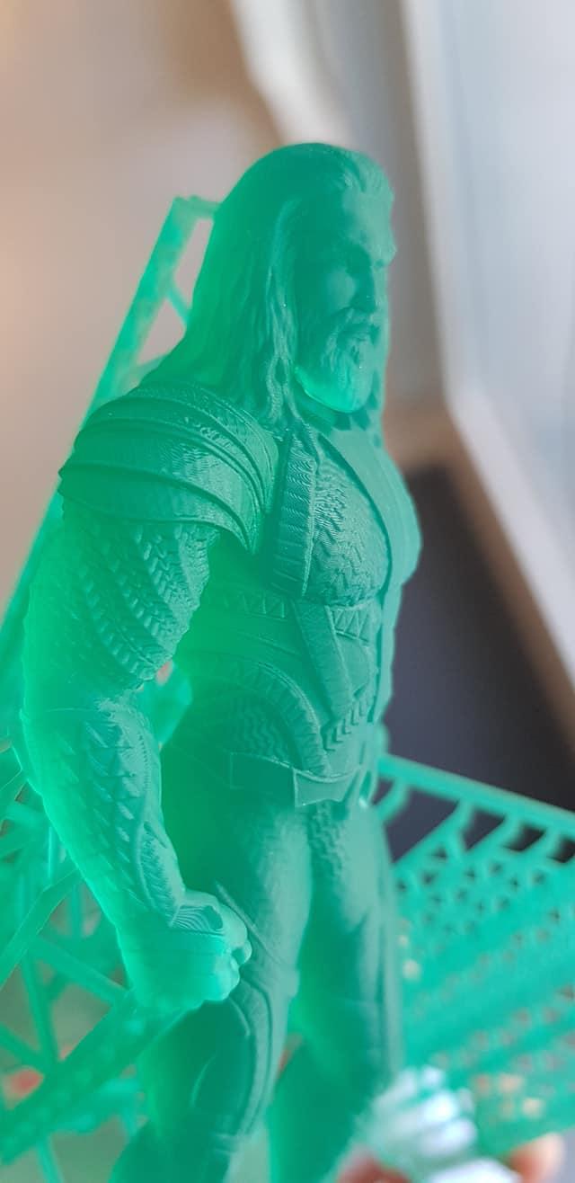 Aquaman 3D Printing Figurine Photo 3