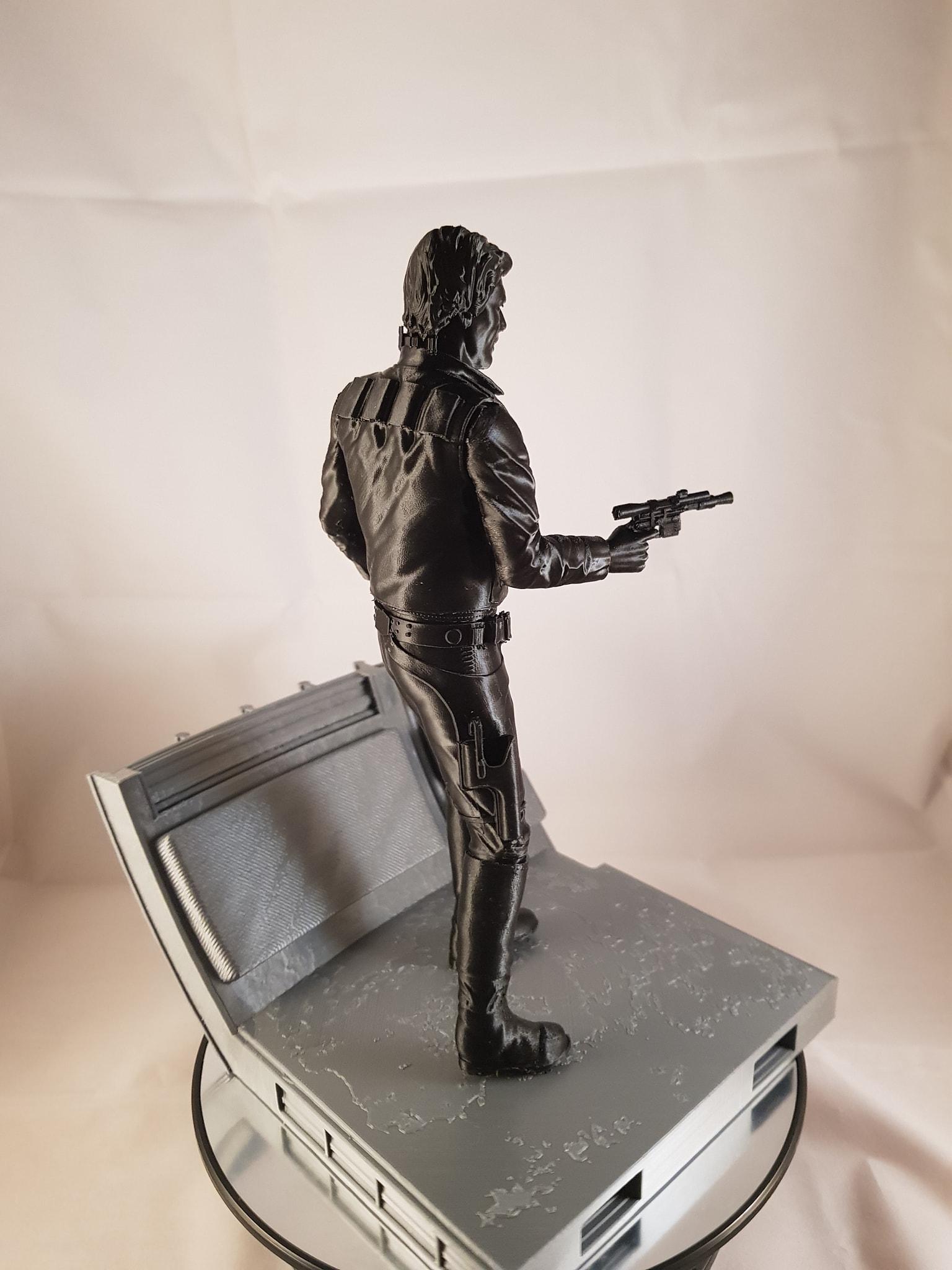 Han Solo 3D Printing Figurine Photo 4