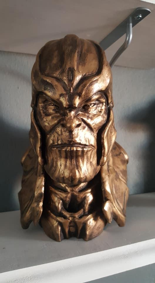 Thanos 3D Printing Bust
