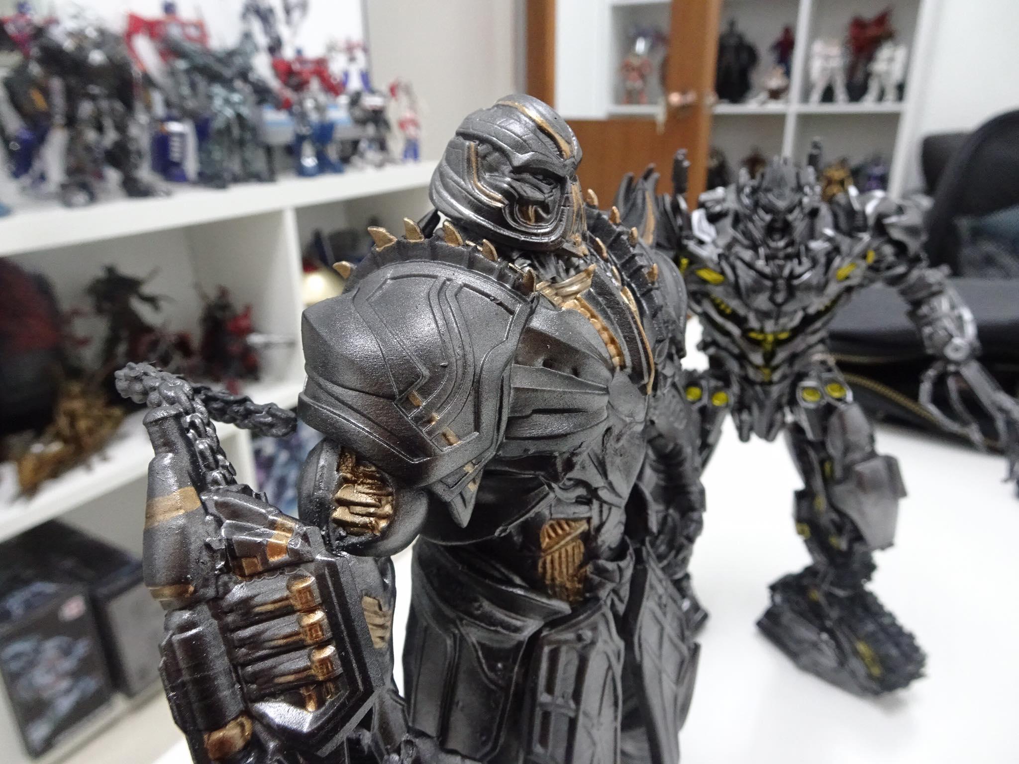 Megatron 3D Printing Figurine