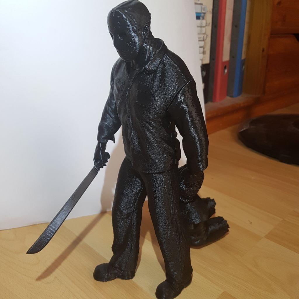 Jason Voorhees 3D Printing Figurine Photo 2