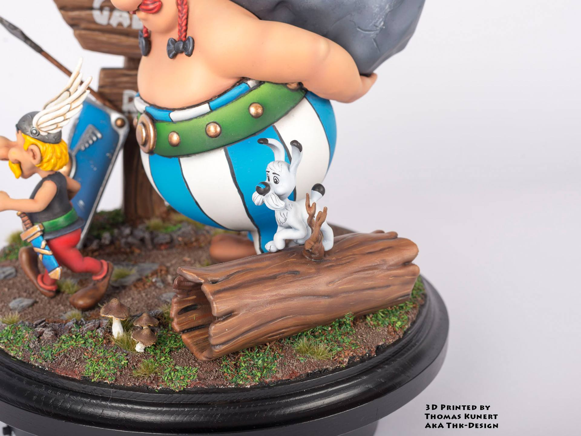 Asterix and Obelix 3D Printing Diorama Photo 5