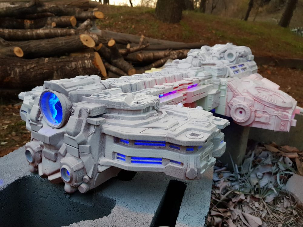 Starcraft Battlecruiser 3D Printing Model