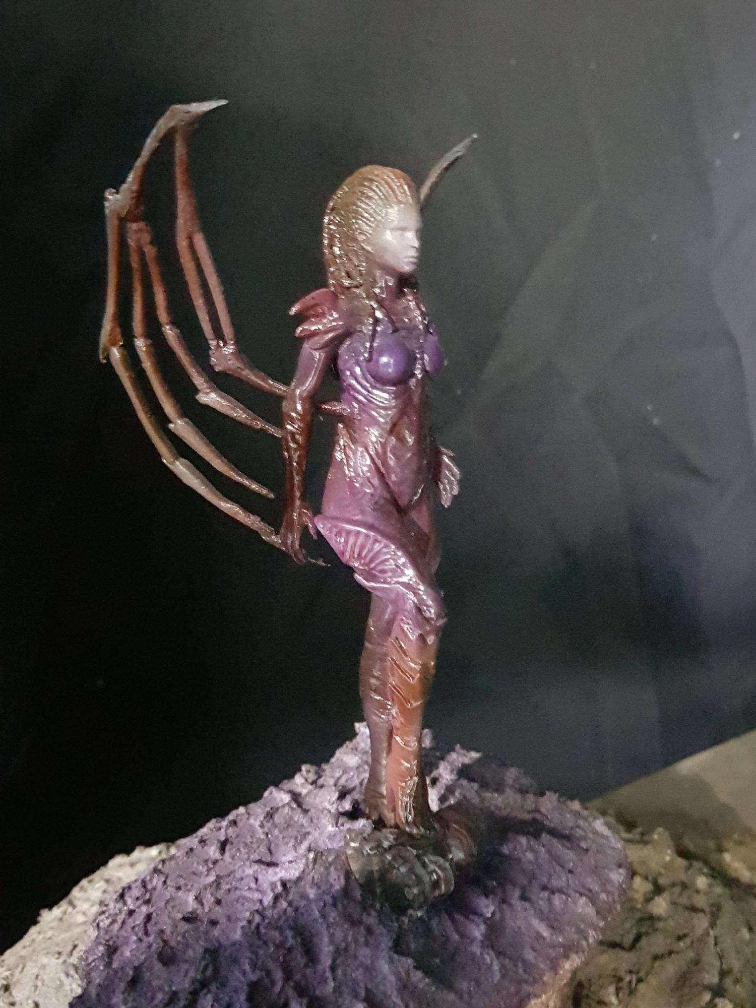Queen of Blades 3D Printing Figurine Photo 2