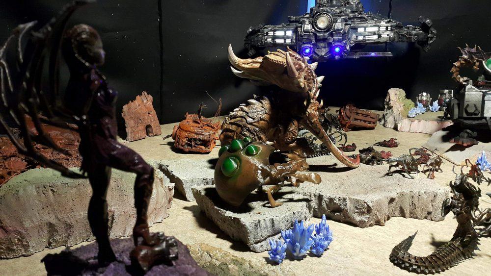 StarCraft 3D Printing Diorama
