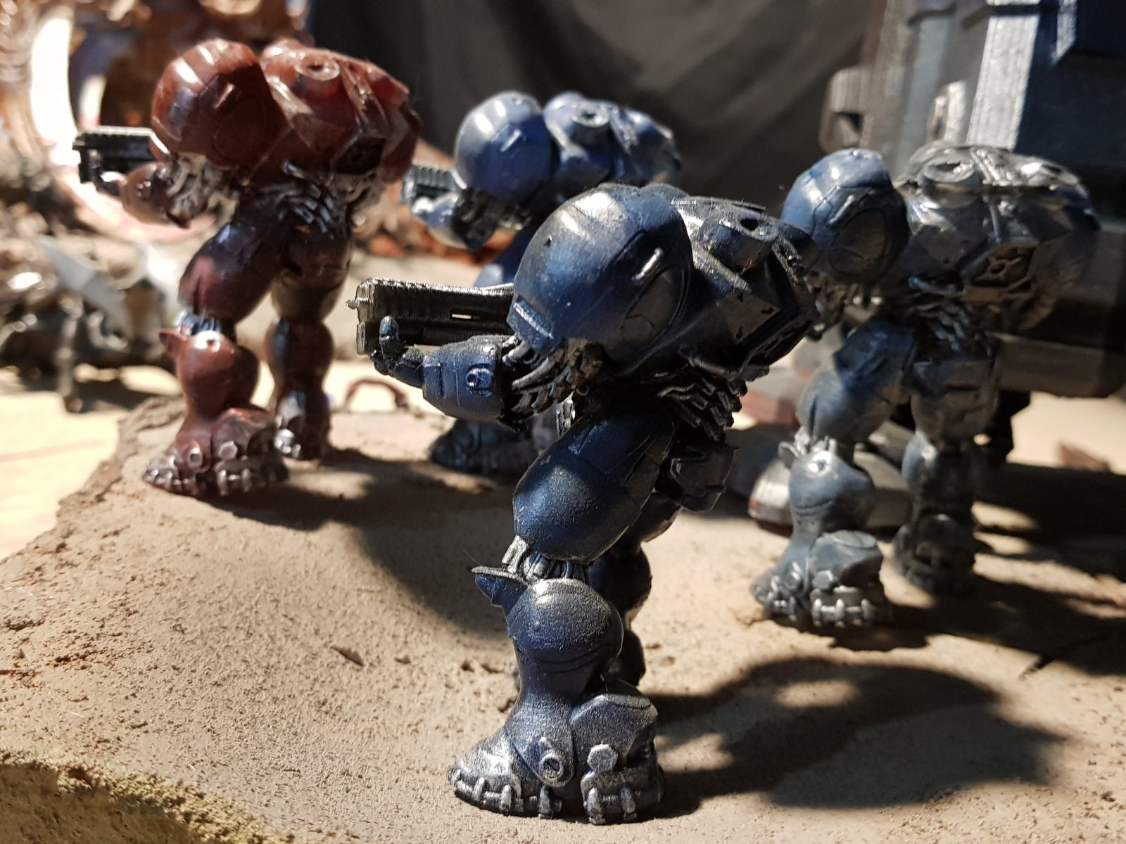 Space Marines 3D Printed Model
