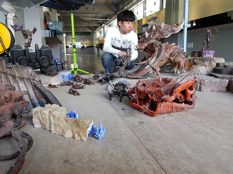 StarCraft 3D Printed Diorama
