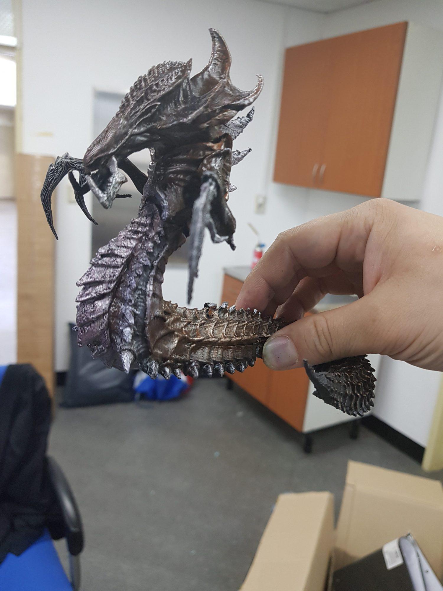 Hydralisk 3D Printing Figurine Photo 3
